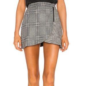 Lennon Skirt Grey & Black plaid